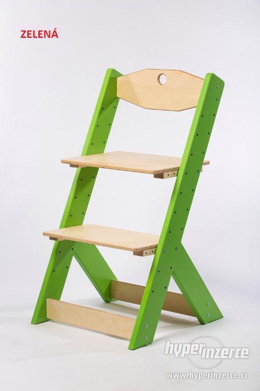 Rostoucí židle OMEGA II - různá barevná kombinace - foto 4