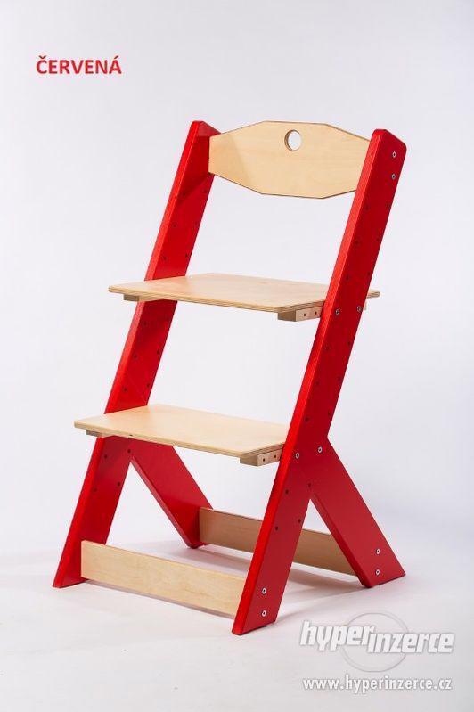 Rostoucí židle OMEGA II - různá barevná kombinace - foto 6
