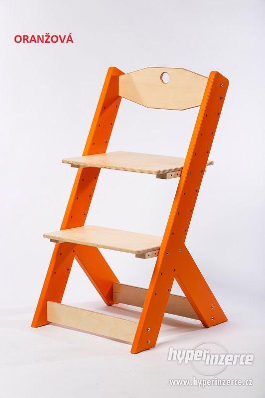 Rostoucí židle OMEGA II - různá barevná kombinace - foto 7