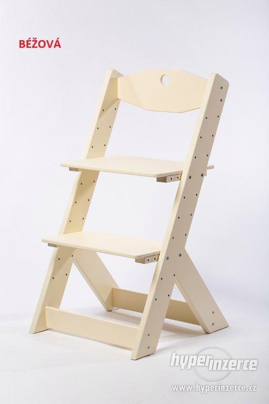 Rostoucí židle OMEGA II - různá barevná kombinace - foto 8
