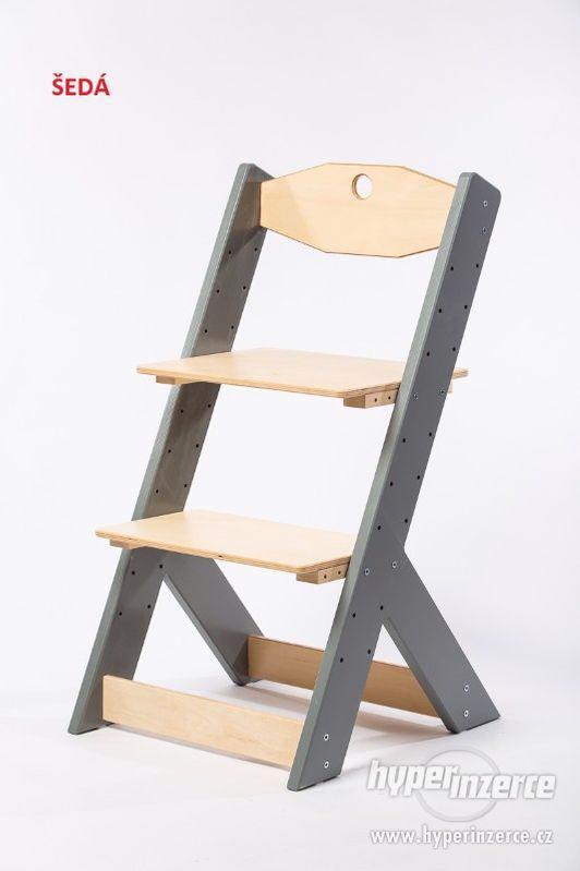 Rostoucí židle OMEGA II - různá barevná kombinace - foto 10