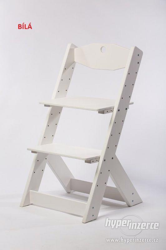 Rostoucí židle OMEGA II - různá barevná kombinace - foto 11