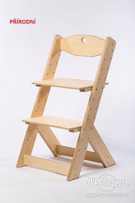 Rostoucí židle OMEGA II - různá barevná kombinace - foto 12