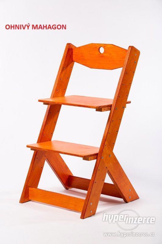 Rostoucí židle OMEGA II - různá barevná kombinace - foto 13