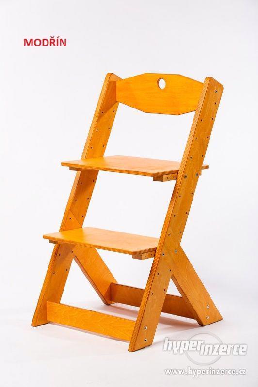 Rostoucí židle OMEGA II - různá barevná kombinace - foto 14