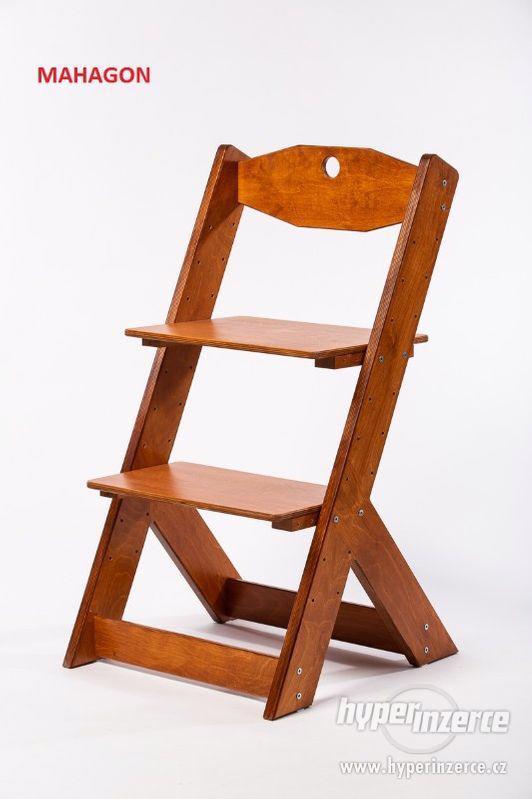 Rostoucí židle OMEGA II - různá barevná kombinace - foto 15