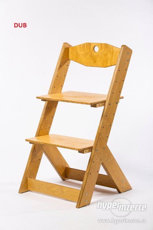 Rostoucí židle OMEGA II - různá barevná kombinace - foto 17