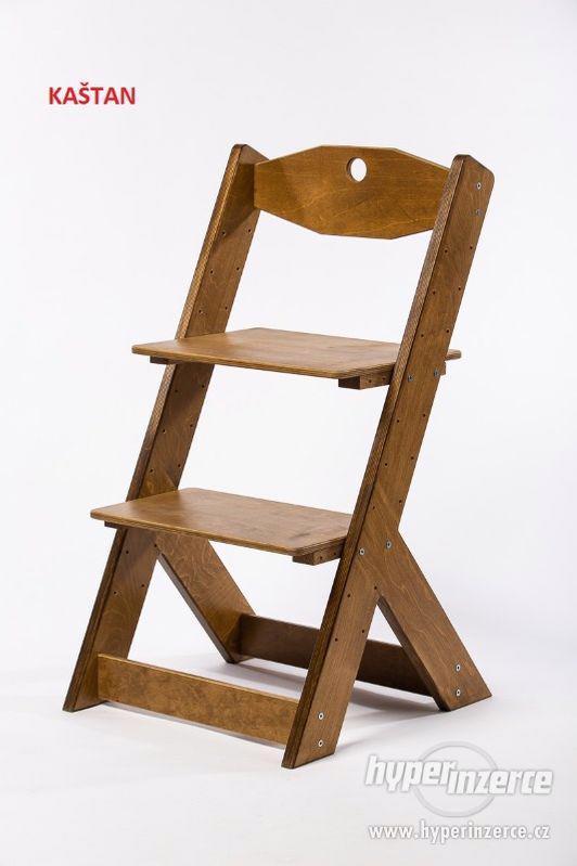 Rostoucí židle OMEGA II - různá barevná kombinace - foto 18