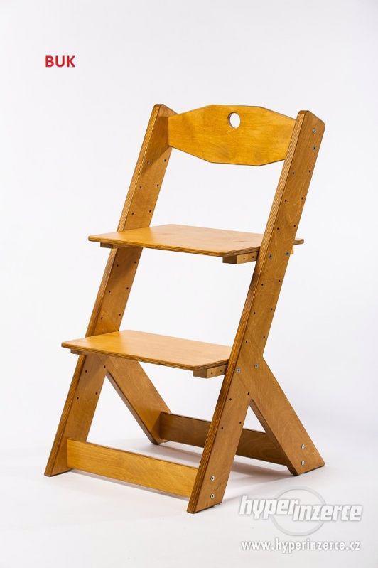Rostoucí židle OMEGA II - různá barevná kombinace - foto 19