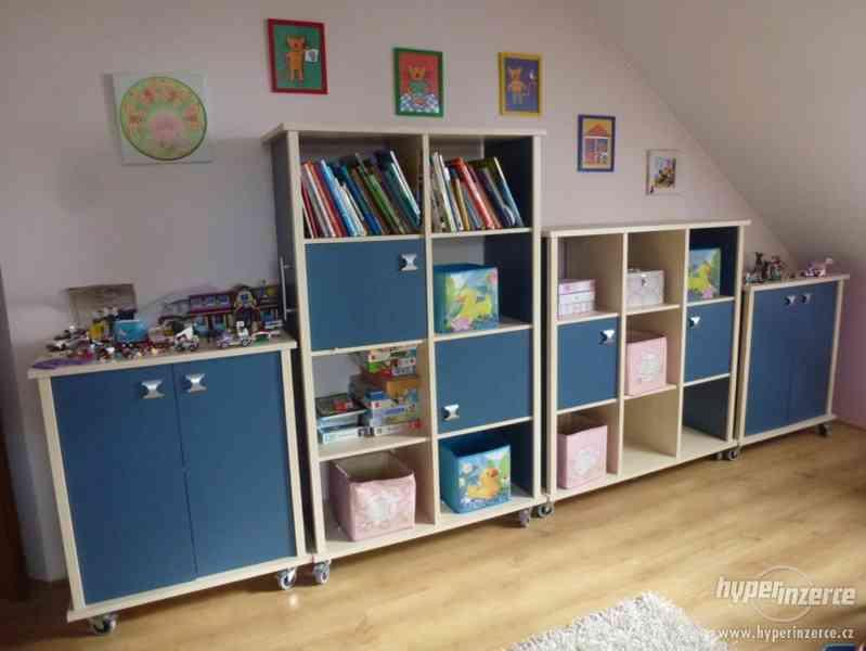 Prodám dětský pokoj s doplňky
