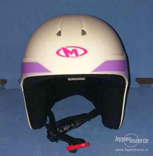 Dětská lyžařská helma Marker