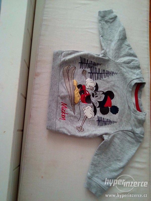 Mikina Mickey mouse 62-68 - foto 1
