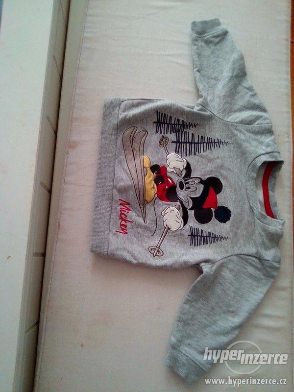 Mikina Mickey mouse 62-68 - foto 2