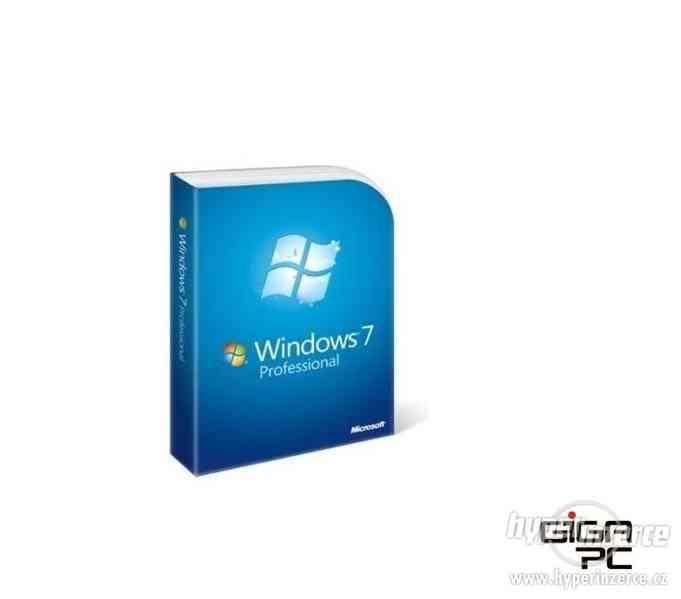 Microsoft Windows 7 Professional 32bit / 64bit OEM CZ
