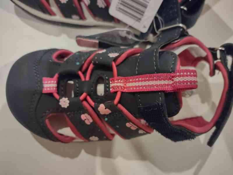 Dívčí sandále - foto 3