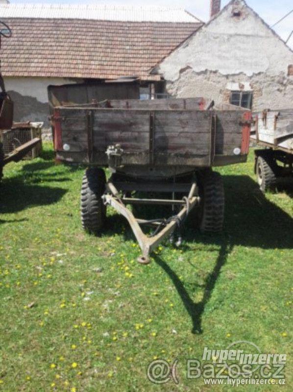 Prodám traktorový přívěs 5t