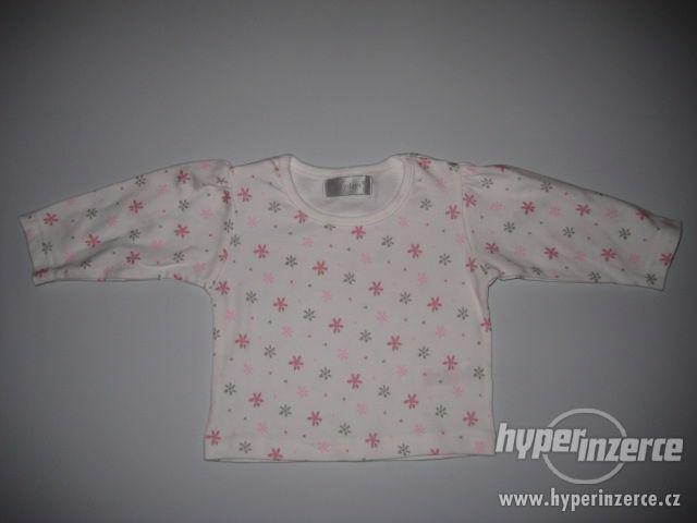 Dětské tričko vel 62cm s dlouhým rukávem Early Days