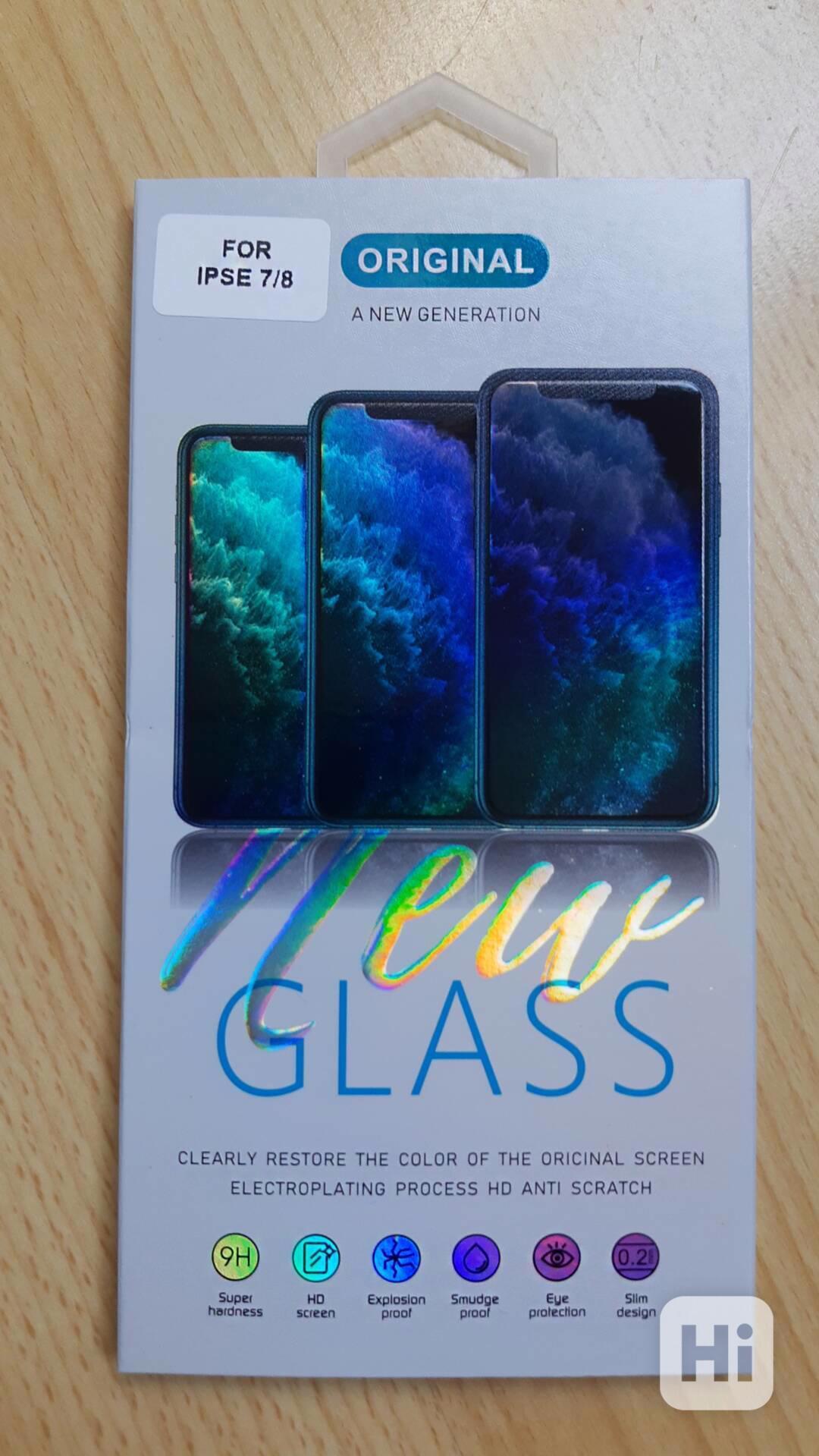 Tvrzené sklo - Iphone 7/8 SE(2020) - foto 1