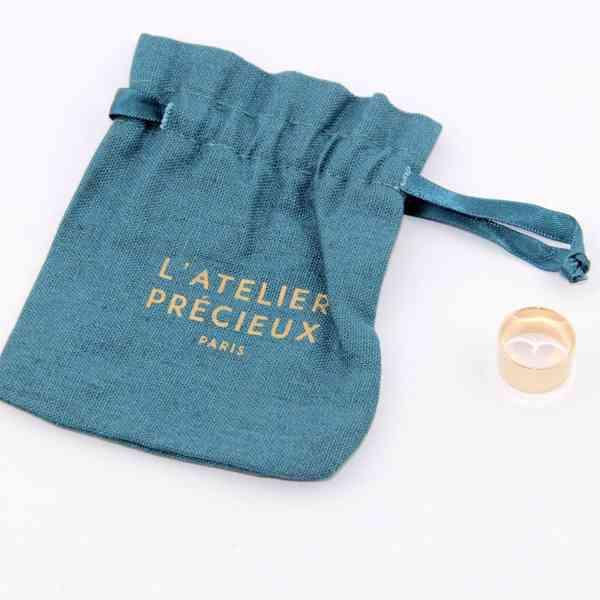 L'Atelier Précieux - Zlatý prsten/ prstýnek Velikost: 52