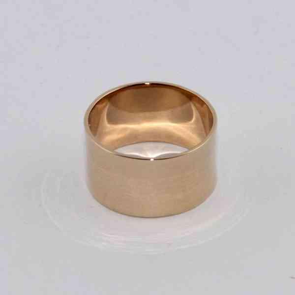 L'Atelier Précieux - Zlatý prsten/ prstýnek Velikost: 52 - foto 2