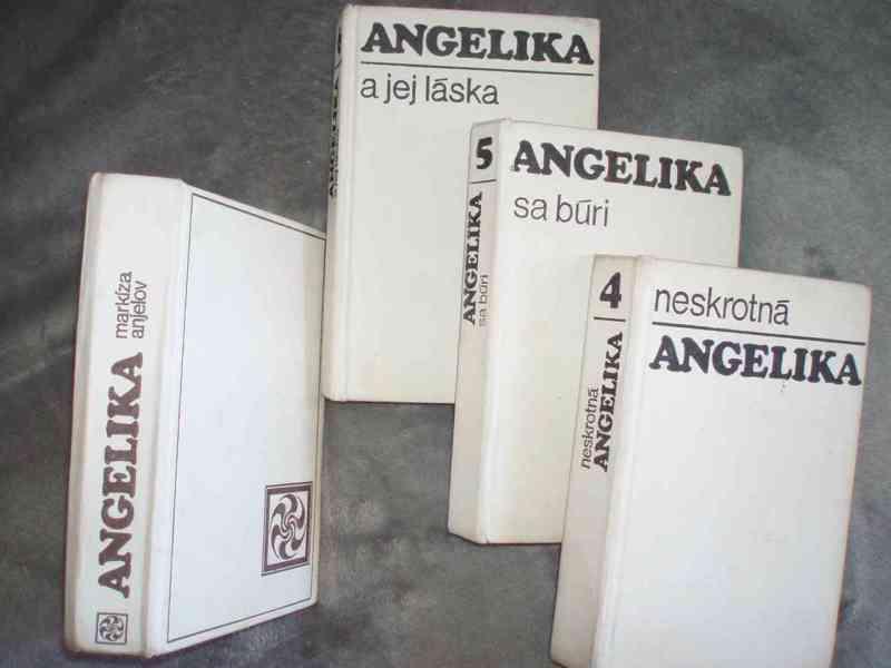 knihy Angelika