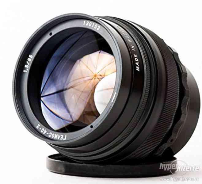 Koupím různé staré objektivy a fotoaparáty - nabídněte
