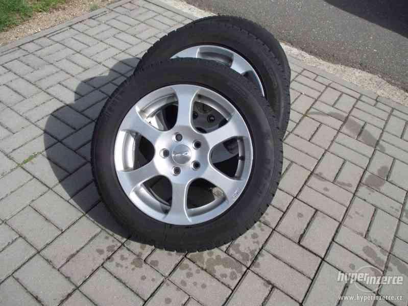 ALU kola + zimní pneu 16