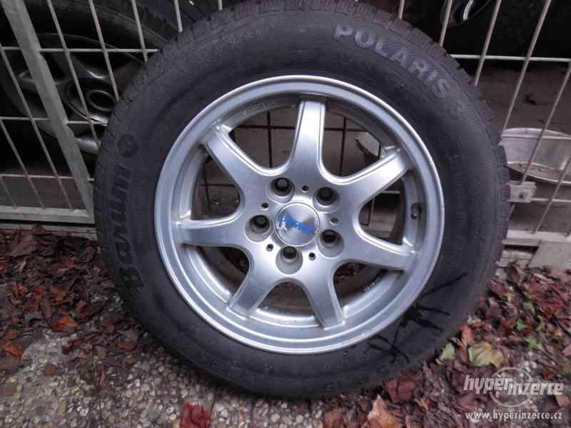 """15"""" Kola + zimní pneu 195/65 R15T"""