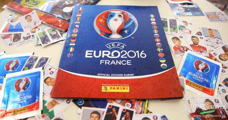 Panini EURO 2016 Francie = fotbalové samolepkové album