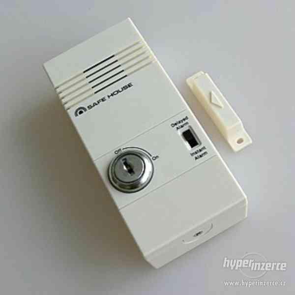 """Dveřní a okení zabezpečovací systém - Náš alarm """"Safe House"""" - foto 2"""