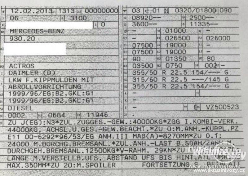 Mercedes-Benz 2544 hák 6x2 na 7m - foto 9