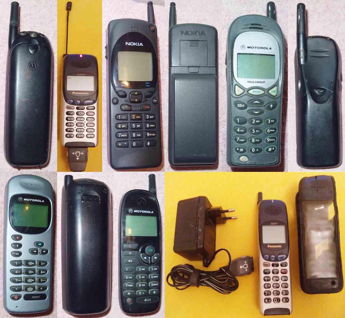 Sběratelské mobilní telefony!!!  - foto 1