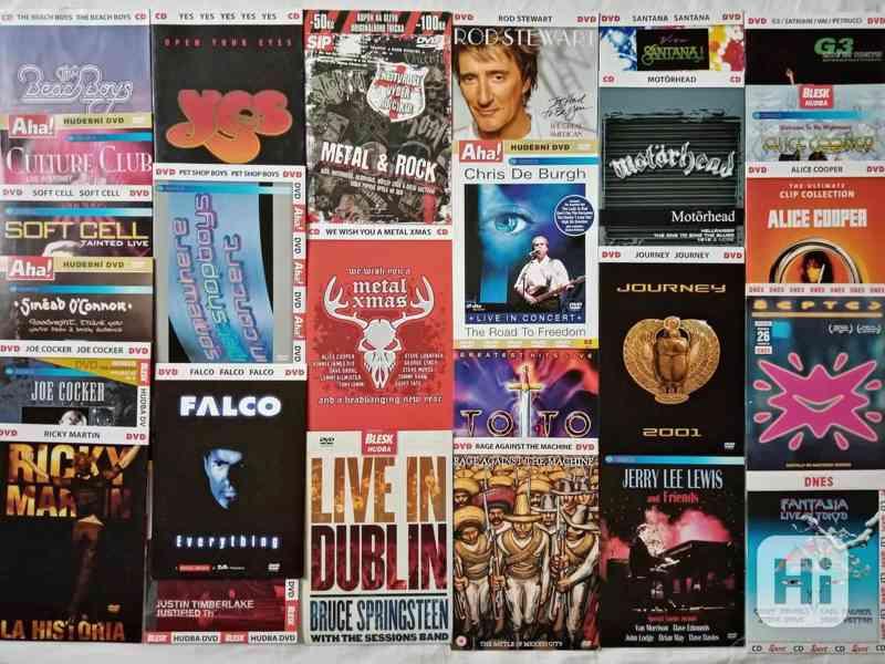 Originál CD, DVD A5(i neotevřené)od 59Kč - foto 1