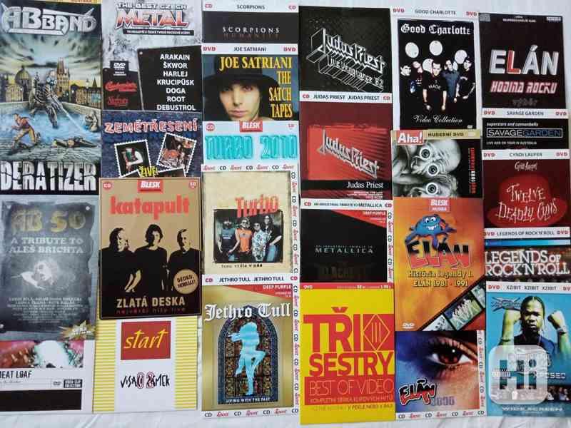 Originál CD, DVD A5(i neotevřené)od 59Kč - foto 3