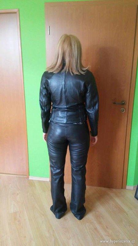 Prodám zánovní set DÁMSKÉHO motorkářského oblečení
