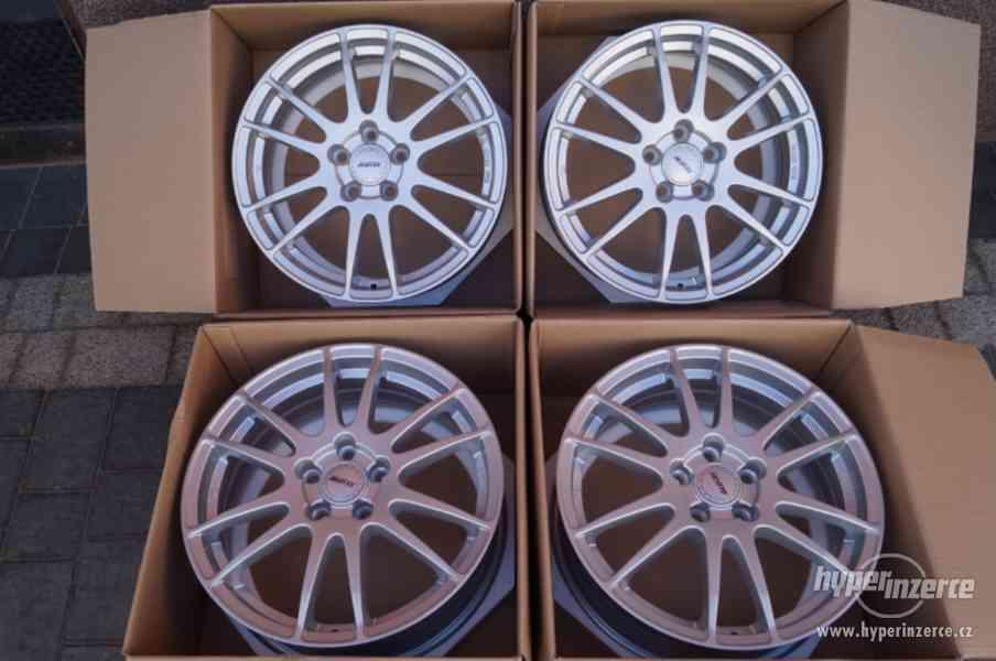 ALU kola 17'' 5X112 ALUTEC GERMANY VW Audi Škoda Nové