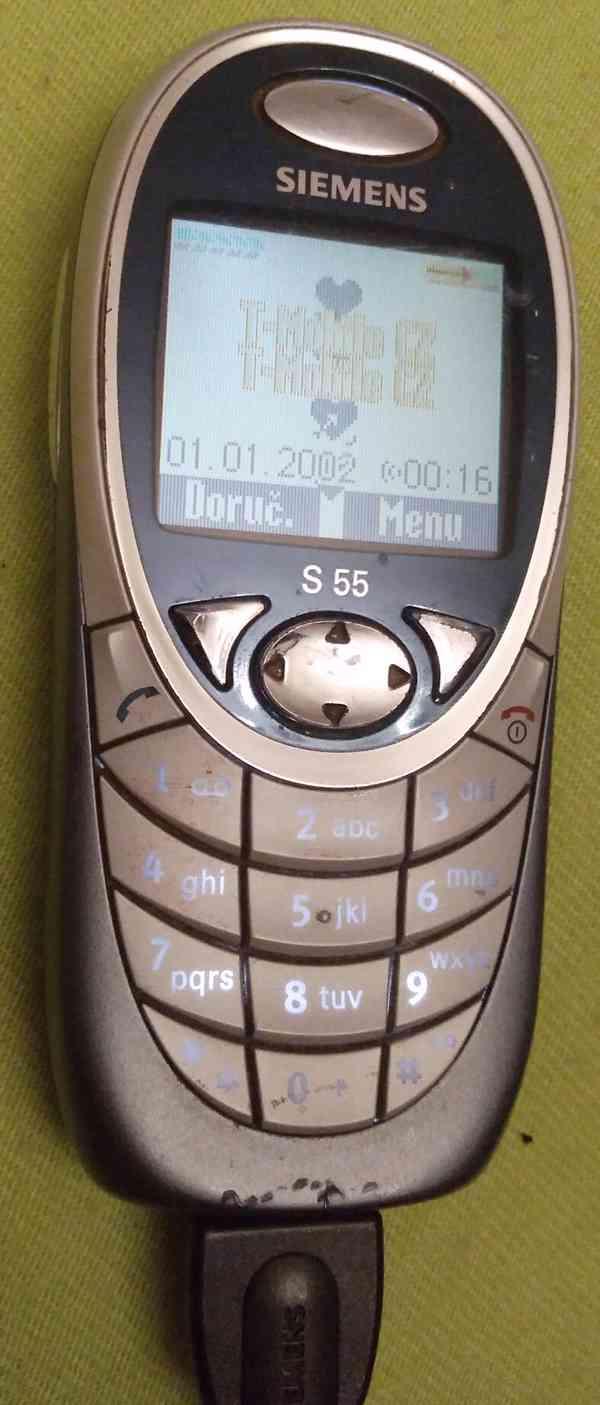 Tlačítkové mobilní telefony -funkční a s nabíječkama!!!  - foto 5