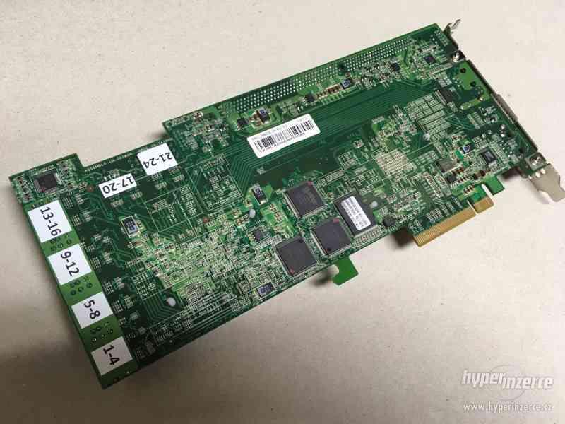 SAS/SATA řadič ARECA ARC-1882IX-24-1GB PCIe 3.0 x8, 4+24 - foto 5
