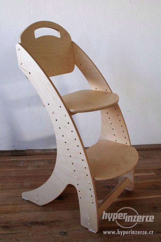 Dětská rostoucí židle PARIS