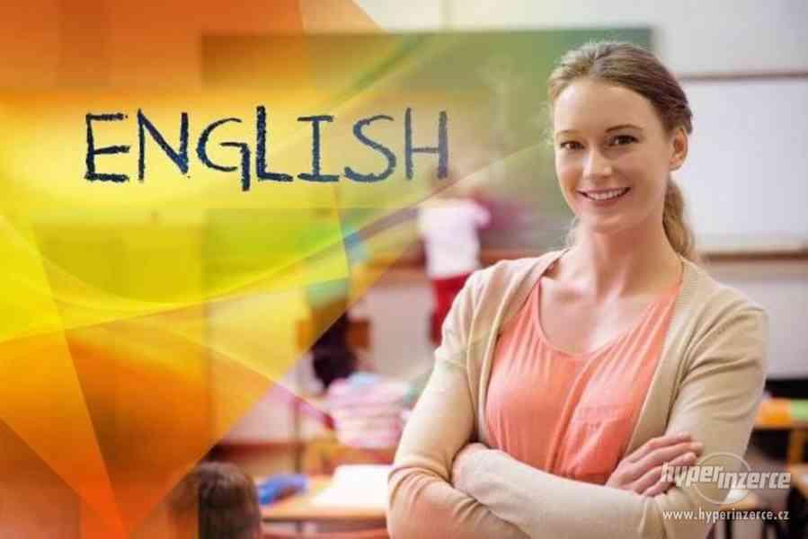 Výuka angličtiny v bytě.