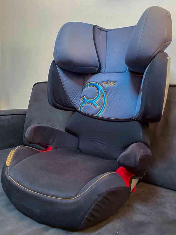 Autosedačka Cybex Solution X-Fix 15-36 kg