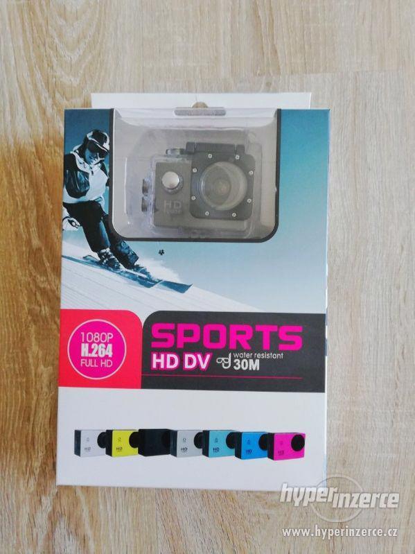 Vodotěsná sportovní kamera - foto 1