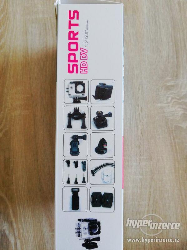 Vodotěsná sportovní kamera - foto 2