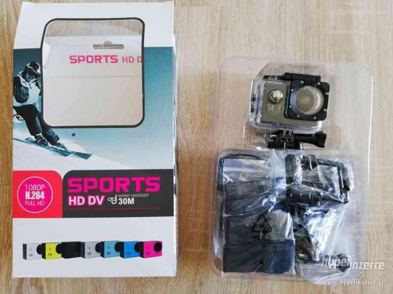 Vodotěsná sportovní kamera - foto 4