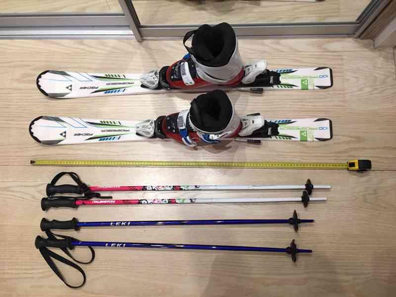 Sjezdové lyže - set
