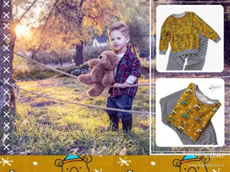 Dětské pyžamo motiv Medvídci - NOVÉ