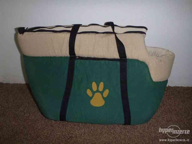 Přepravní taška pro psa