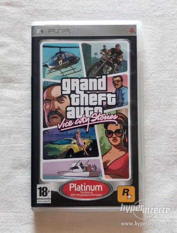 PSP - Grand Theft Auto Vice City Stories - foto 1