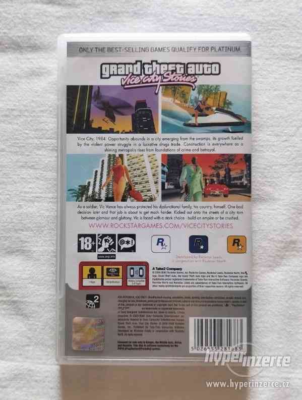 PSP - Grand Theft Auto Vice City Stories - foto 3