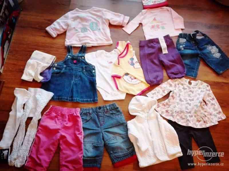 Set oblečení pro holčičku, vel. 68, 17 ks